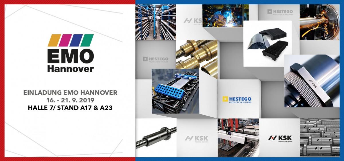 Einladung EMO Hannover 2019